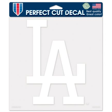 "Los Angeles Dodgers Perfect Cut Decals 8"" x 8"""