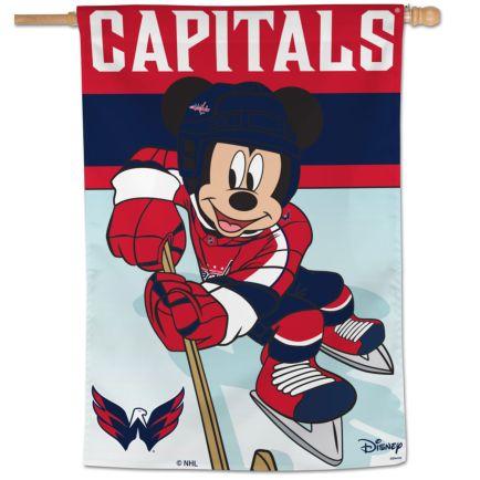 "Washington Capitals / Disney Vertical Flag 28"" x 40"""