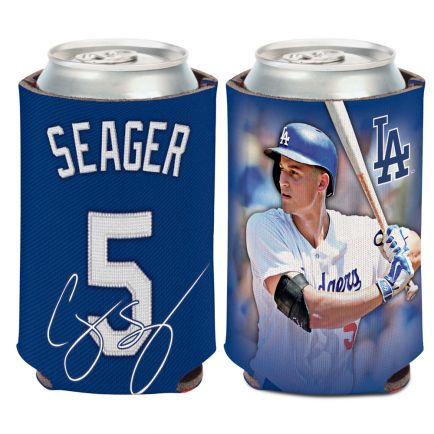 Los Angeles Dodgers Can Cooler 12 oz. Corey Seager