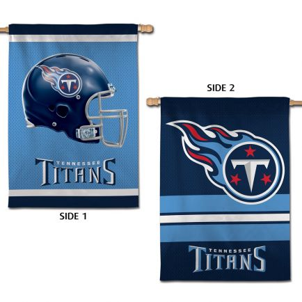 """Tennessee Titans Vertical Flag 2 Sided 28"""" x 40"""""""