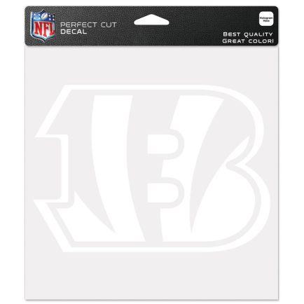 """Cincinnati Bengals """"B"""" Perfect Cut Decals 8"""" x 8"""""""