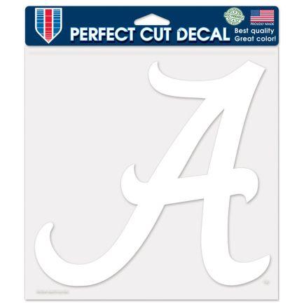 """Alabama Crimson Tide Perfect Cut Decals 8"""" x 8"""""""