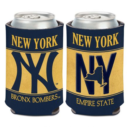 New York Yankees LICENSE PLATE Can Cooler 12 oz.