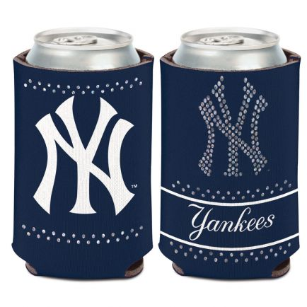 New York Yankees Bling Can Cooler 12 oz.