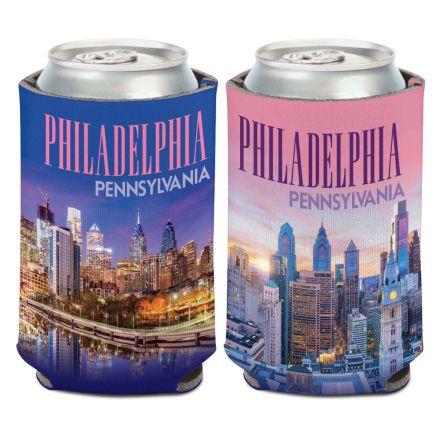 City / Pennsylvania PHIILADELPHIA Can Cooler 12 oz.