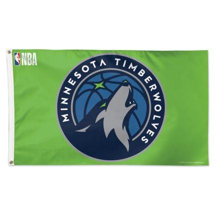 Minnesota Timberwolves Flag - Deluxe 3' X 5'