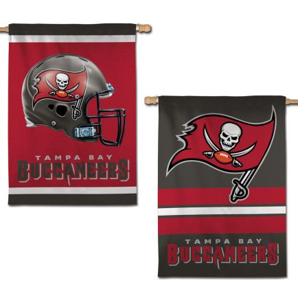 """Tampa Bay Buccaneers Vertical Flag 2 Sided 28"""" x 40"""""""