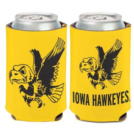 Iowa Hawkeyes / Vintage Collegiate Can Cooler 12 oz.