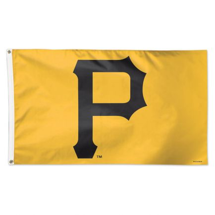 Pittsburgh Pirates Logo Flag - Deluxe 3' X 5'