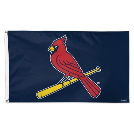 St. Louis Cardinals Logo Flag - Deluxe 3' X 5'