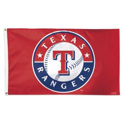 Texas Rangers Logo Flag - Deluxe 3' X 5'