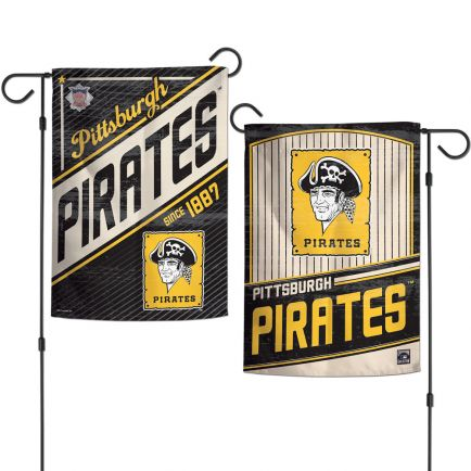 "Pittsburgh Pirates / Cooperstown Garden Flags 2 sided 12.5"" x 18"""