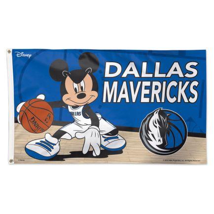 Dallas Mavericks / Disney Flag - Deluxe 3' X 5'