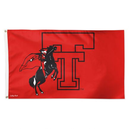Texas Tech Red Raiders /College Vault Flag - Deluxe 3' X 5'