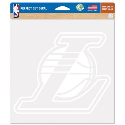 "Los Angeles Lakers Perfect Cut Decals 8"" x 8"""