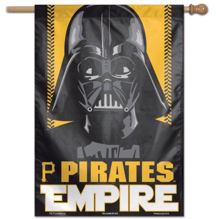 "Pittsburgh Pirates / Star Wars Star Wars Vertical Flag 28"" x 40"""