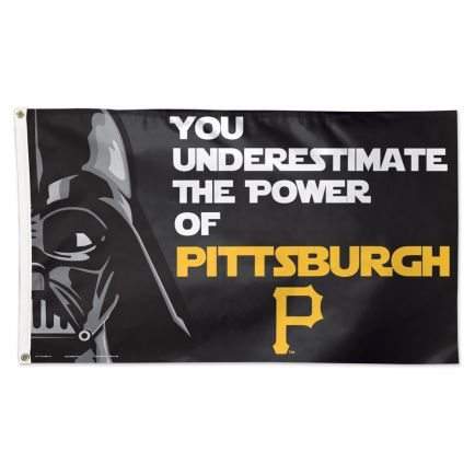Pittsburgh Pirates / Star Wars Darth Vader Flag - Deluxe 3' X 5'