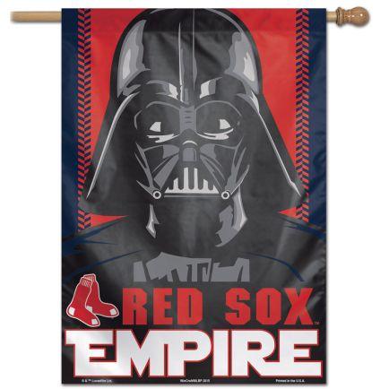 "Boston Red Sox / Star Wars Star Wars Vertical Flag 28"" x 40"""