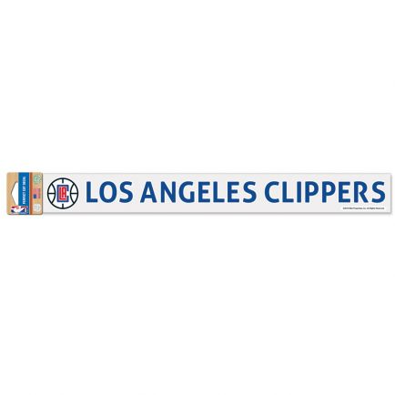 "Los Angeles Clippers Perfect Cut Decals 2"" x 17"""