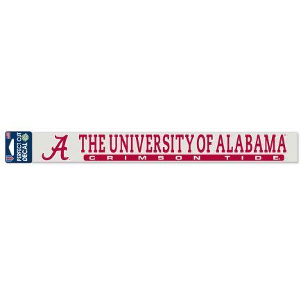 """Alabama Crimson Tide Perfect Cut Decals 2"""" x 17"""""""