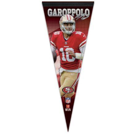 "San Francisco 49ers Premium Pennant 12"" x 30"" Jimmy Garoppolo"