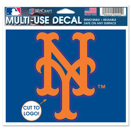 """New York Mets Multi-Use Decal - cut to logo 5"""" x 6"""""""