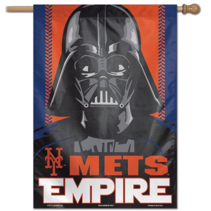 "New York Mets / Star Wars Star Wars Vertical Flag 28"" x 40"""