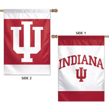 "Indiana Hoosiers Vertical Flag 2 Sided 28"" x 40"""