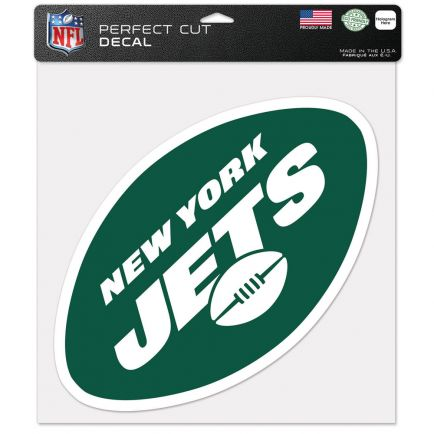 """New York Jets Perfect Cut Color Decal 12"""" x 12"""""""
