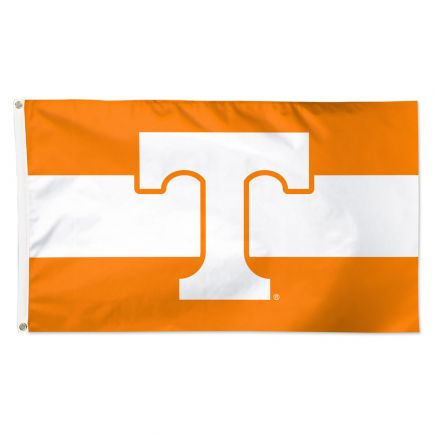 Tennessee Volunteers Horizontal Jersey Stripes Flag - Deluxe 3' X 5'