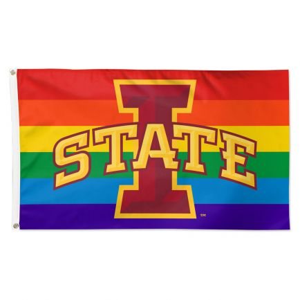 Iowa State Cyclones Pride Flag - Deluxe 3' X 5'