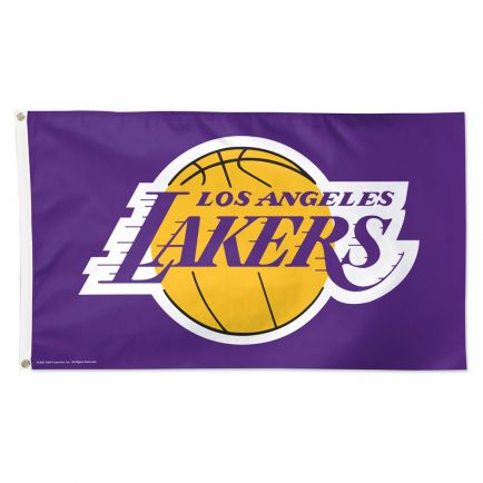 Los Angeles Lakers purple Flag - Deluxe 3' X 5'