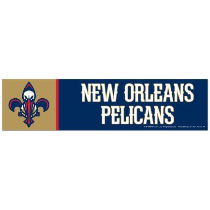 "New Orleans Pelicans Bumper Strip 3"" x 12"""
