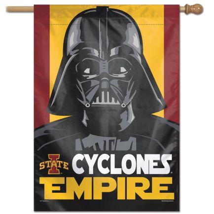 "Iowa State Cyclones / Star Wars DARTH VADER Vertical Flag 28"" x 40"""