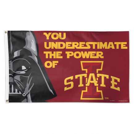 Iowa State Cyclones / Star Wars DARTH VADER Flag - Deluxe 3' X 5'