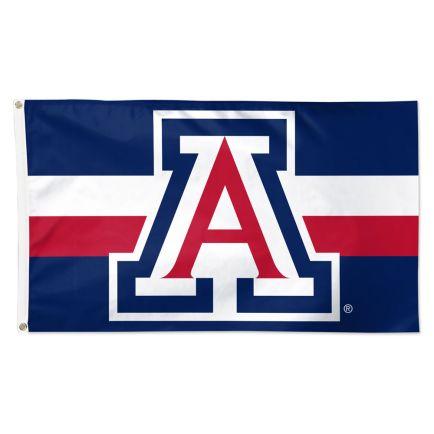 Arizona Wildcats Horizontal Jersey Stripes Flag - Deluxe 3' X 5'
