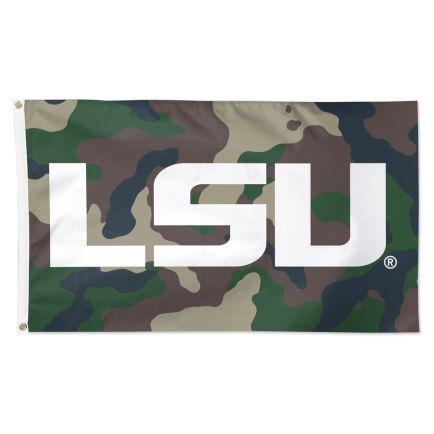 LSU Tigers camo Flag - Deluxe 3' X 5'