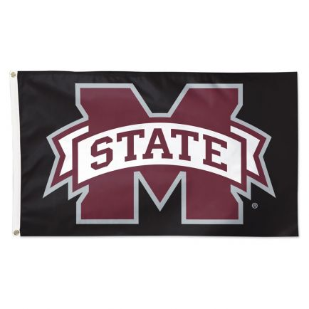 Mississippi State Bulldogs black Flag - Deluxe 3' X 5'