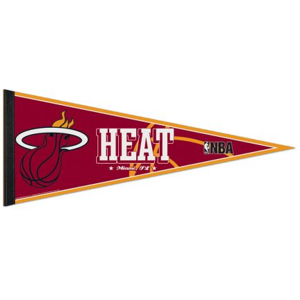 """Miami Heat Classic Pennant, carded 12"""" x 30"""""""