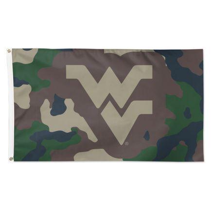 West Virginia Mountaineers Camo Flag - Deluxe 3' X 5'