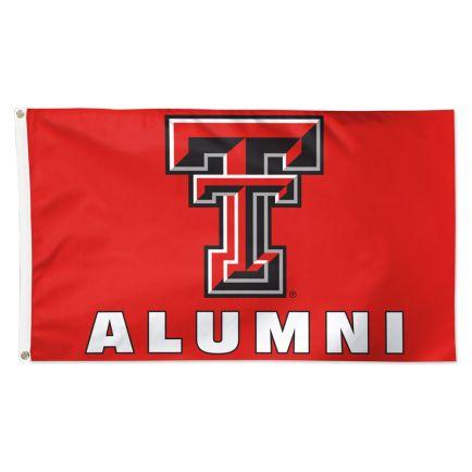 Texas Tech Red Raiders Alumni Flag - Deluxe 3' X 5'