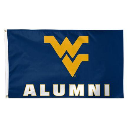 West Virginia Mountaineers Alumni Flag - Deluxe 3' X 5'
