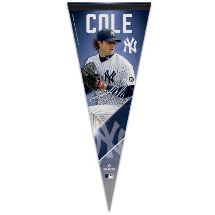"""New York Yankees Premium Pennant 12"""" x 30"""" Gerrit Cole"""