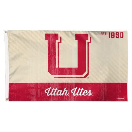 Utah Utes /College Vault Flag - Deluxe 3' X 5'