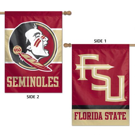 """Florida State Seminoles Vertical Flag 2 Sided 28"""" x 40"""""""