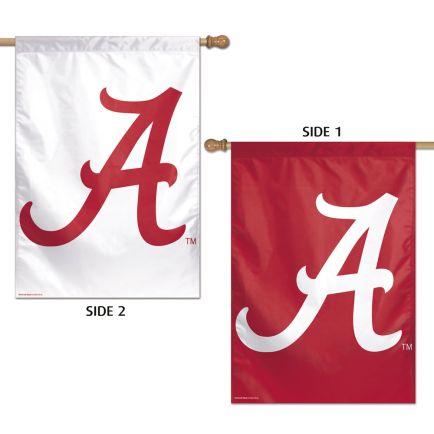 """Alabama Crimson Tide Vertical Flag 2 Sided 28"""" x 40"""""""