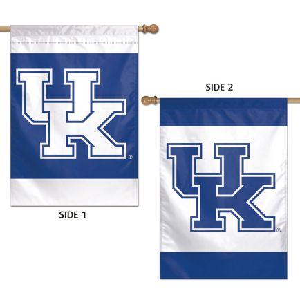 """Kentucky Wildcats Vertical Flag 2 Sided 28"""" x 40"""""""