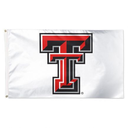 Texas Tech Red Raiders ALT COLOR 2 WHITE Flag - Deluxe 3' X 5'