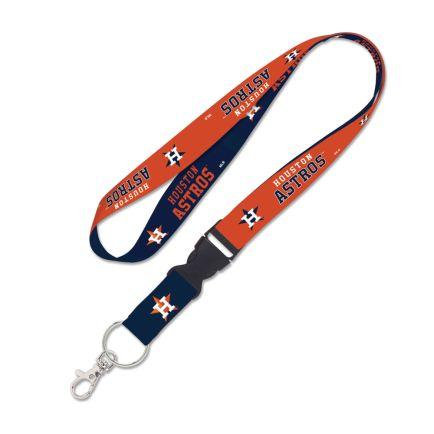 "Houston Astros Lanyard w/detachable buckle 1"""