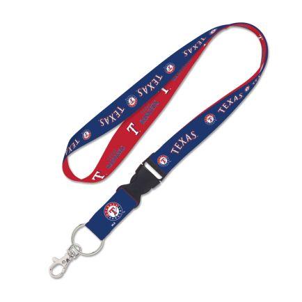 """Texas Rangers Lanyard w/detachable buckle 1"""""""